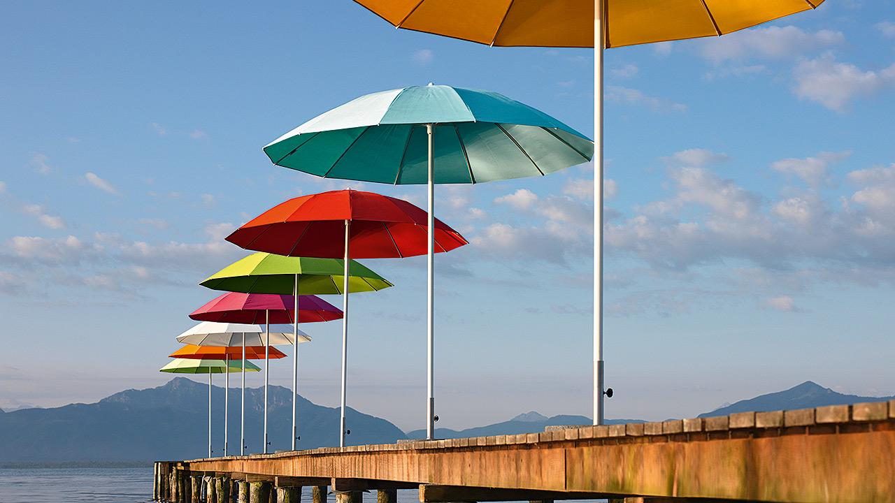 Huber Mein Lebensgefühl Garten Terrasse Balkon Runde Schirme
