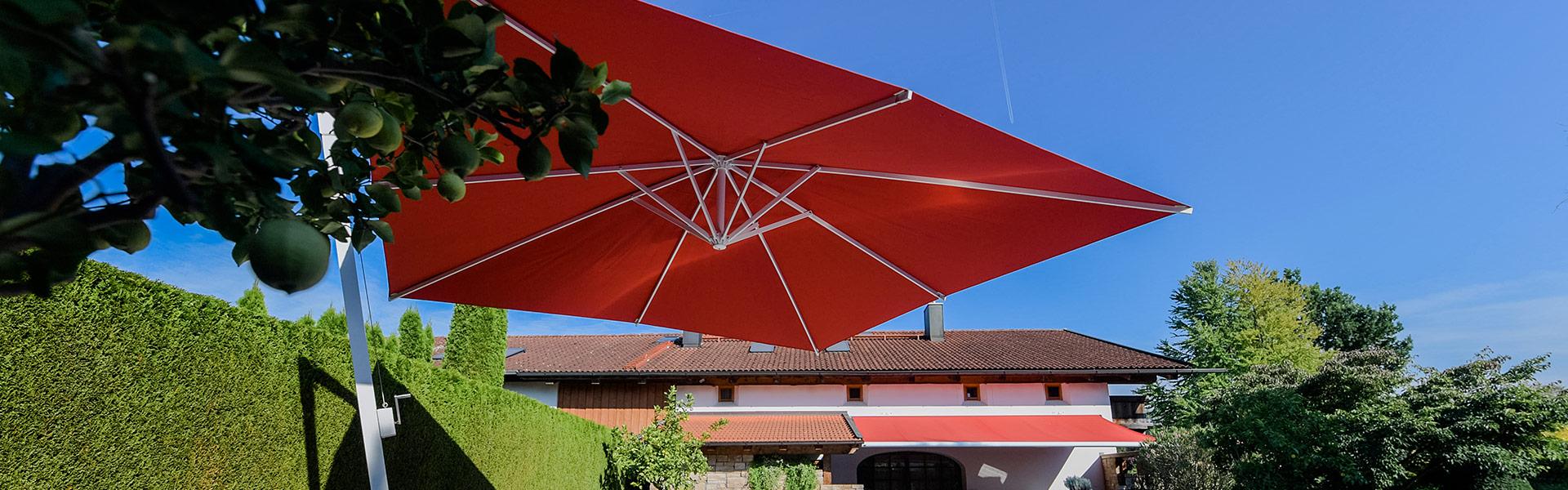 Huber Mein Lebensgefühl Garten Terrasse Balkon Sonnenschirme