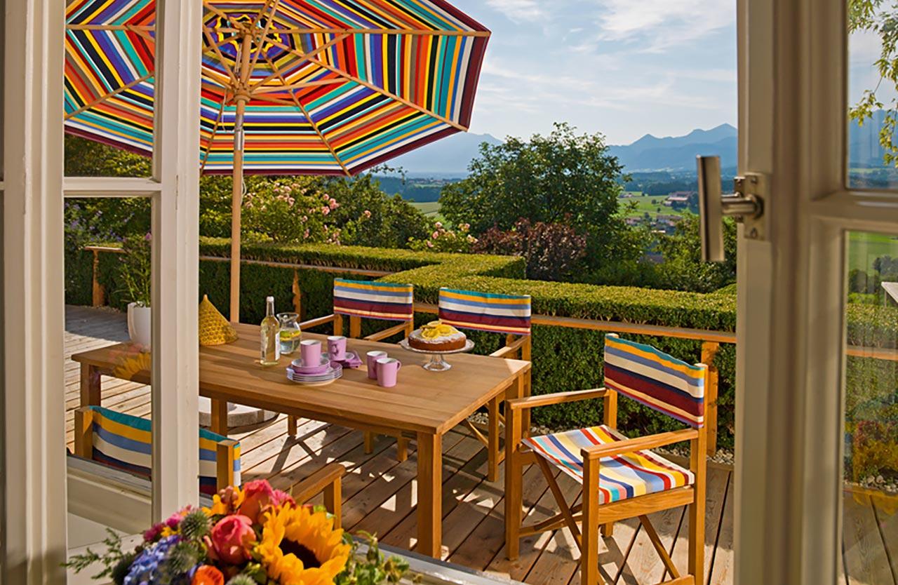 Huber Mein Lebensgefühl Garten Terrasse Balkon Möbel Weishäupl Cabin Sitzgruppe